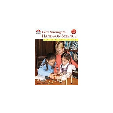 Milliken Publishing Lets Investigate Hands On Science Grades 1-2 Science Workbook, Grade 1 - Grade 2 [eBook]