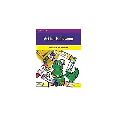 Milliken Publishing Art For Halloween Art & Music Workbook, Preschool - Grade 3 [eBook]