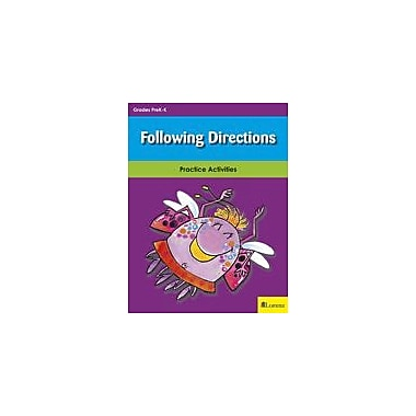 Milliken Publishing Following Directions Math Workbook, Kindergarten [eBook]
