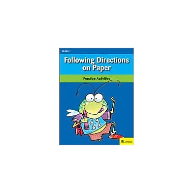 Milliken Publishing Following Directions On Paper Math Workbook, Grade 1 [eBook]