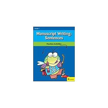 Milliken Publishing Manuscript Writing: Sentences Reading & Writing Workbook, Grade 1 [eBook]