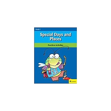 Milliken Publishing Special Days and Places Social Studies Workbook, Grade 1 [eBook]