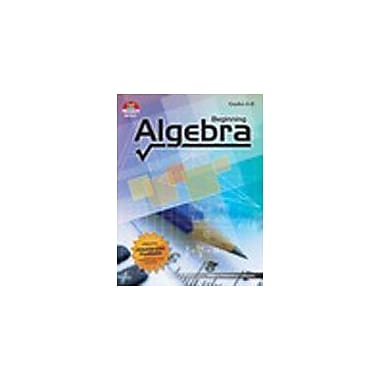 Milliken Publishing Beginning Algebra Math Workbook, Grade 6 - Grade 8 [Enhanced eBook]