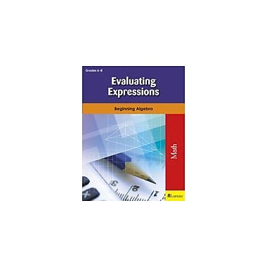 Milliken Publishing Evaluating Expressions Math Workbook, Grade 6 - Grade 8 [eBook]