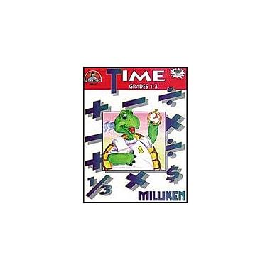 Milliken Publishing Time Math Workbook, Grade 1 - Grade 3 [Enhanced eBook]