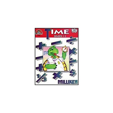 Milliken Publishing Time Math Workbook, Grade 1 - Grade 3 [eBook]