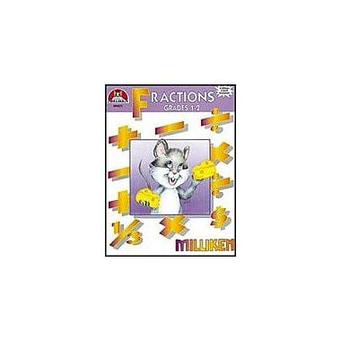 Milliken Publishing Fractions-2 Math Workbook, Grade 1 - Grade 2 [Enhanced eBook]