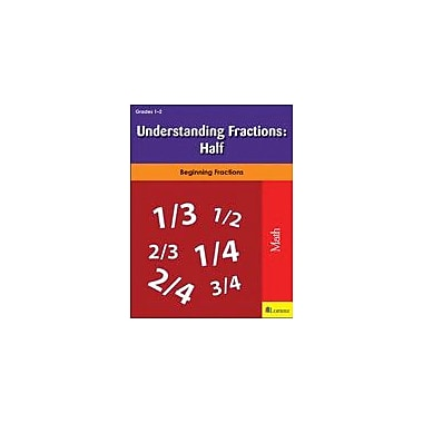 Milliken Publishing Understanding Fractions: Half Math Workbook, Grade 1 - Grade 2 [eBook]