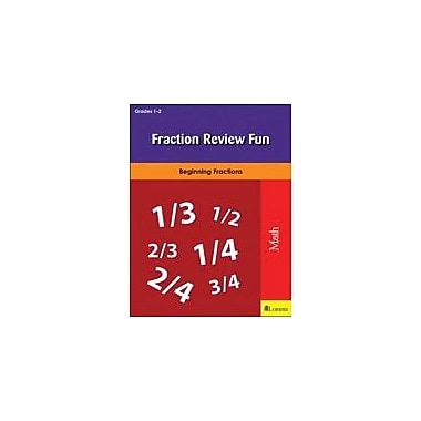 Milliken Publishing Fraction Review Fun Math Workbook, Grade 1 - Grade 2 [eBook]