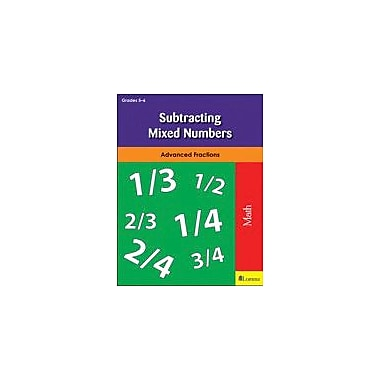Milliken Publishing Subtracting Mixed Numbers Math Workbook, Grade 5 - Grade 6 [eBook]
