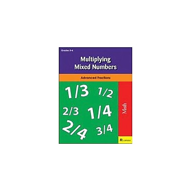 Milliken Publishing Multiplying Mixed Numbers Math Workbook, Grade 5 - Grade 6 [eBook]