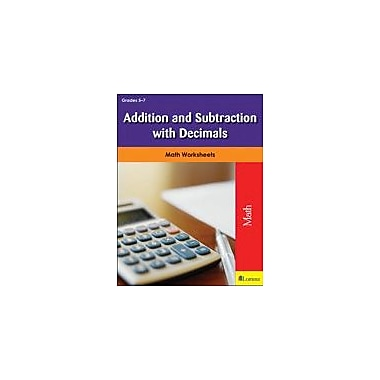 Milliken Publishing Addition and Subtraction With Decimals Math Workbook, Grade 5 - Grade 7 [eBook]