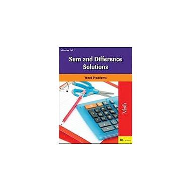 Milliken Publishing Sum and Difference Solutions Math Workbook, Grade 2 - Grade 3 [eBook]