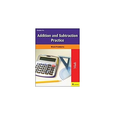 Milliken Publishing Addition and Subtraction Practice Math Workbook, Grade 4 - Grade 6 [eBook]