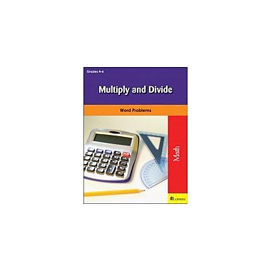 Milliken Publishing Multiply and Divide Math Workbook, Grade 4 - Grade 6 [eBook]