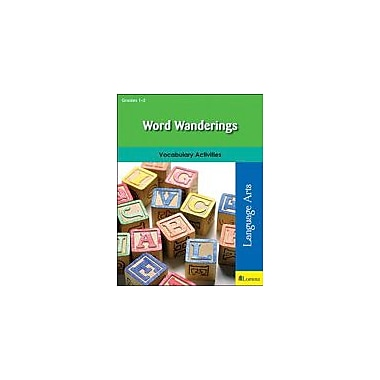Milliken Publishing Word Wanderings Reading & Writing Workbook, Grade 1 - Grade 2 [eBook]