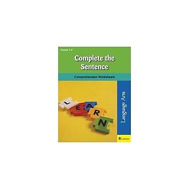 Milliken Publishing Complete the Sentence Reading & Writing Workbook, Grade 1 - Grade 2 [eBook]