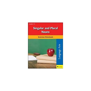 Milliken Publishing Singular and Plural Nouns Grammar Workbook, Grade 1 - Grade 2 [eBook]