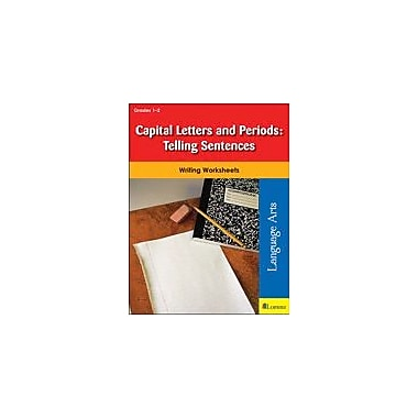 Milliken Publishing Capital Letters and Periods: Telling Sentences Reading & Writing Workbook, Grade 1 - Grade 2 [eBook]