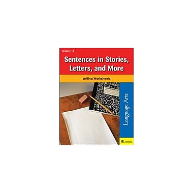Milliken Publishing Sentences In Stories, Letters, and More Reading & Writing Workbook, Grade 1 - Grade 2 [eBook]