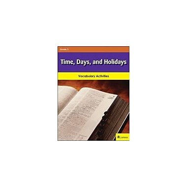Milliken Publishing Time, Days, and Holidays Math Workbook, Grade 3 [eBook]