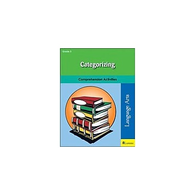 Milliken Publishing Categorizing Reading & Writing Workbook, Grade 3 [eBook]
