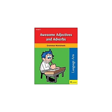 Milliken Publishing Awesome Adjectives and Adverbs Grammar Workbook, Grade 3 [eBook]