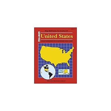 Milliken Publishing United States Map Skills Social Studies Workbook, Grade 4 - Grade 9 [Enhanced eBook]