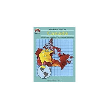 Milliken Publishing Canada Map Skills Social Studies Workbook, Grade 4 - Grade 9 [eBook]