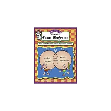 Milliken Publishing Picture It! Fun With Venn Diagrams Language Arts Workbook, Kindergarten - Grade 3 [eBook]