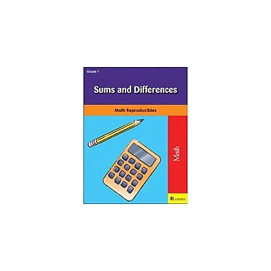 Milliken Publishing Sums and Differences Math Workbook, Grade 1 [eBook]