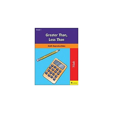 Milliken Publishing Greater Than, Less Than Math Workbook, Grade 1 [eBook]