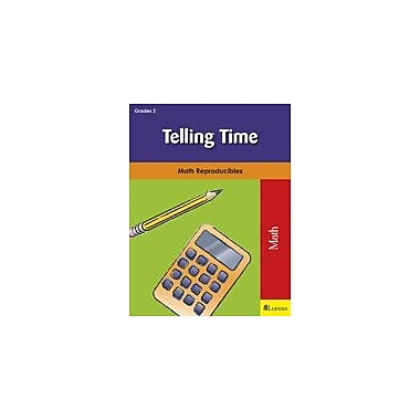 Milliken Publishing Telling Time Math Workbook, Grade 2 [eBook]
