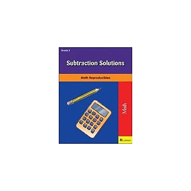 Milliken Publishing Subtraction Solutions Math Workbook, Grade 3 [eBook]