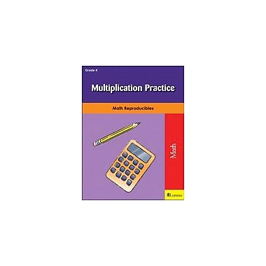 Milliken Publishing Multiplication Practice Math Workbook, Grade 4 [eBook]