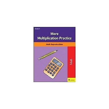 Milliken Publishing More Multiplication Practice Math Workbook, Grade 4 [eBook]