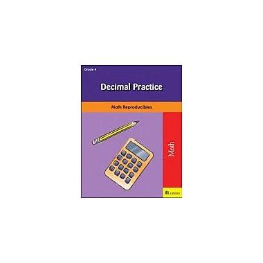 Milliken Publishing Decimal Practice Math Workbook, Grade 4 [eBook]
