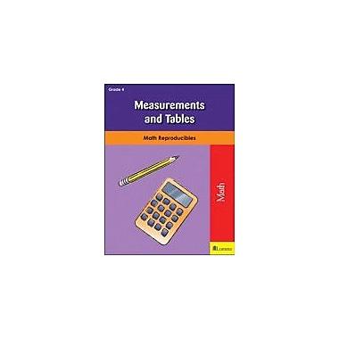 Milliken Publishing Measurements and Tables Math Workbook, Grade 4 [eBook]