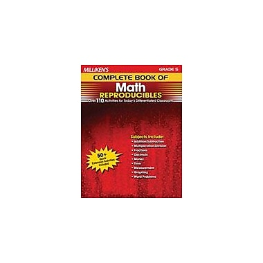Milliken Publishing Milliken's Complete Book of Math Reproducibles: Grade 5 Math Workbook, Grade 5 [Enhanced eBook]