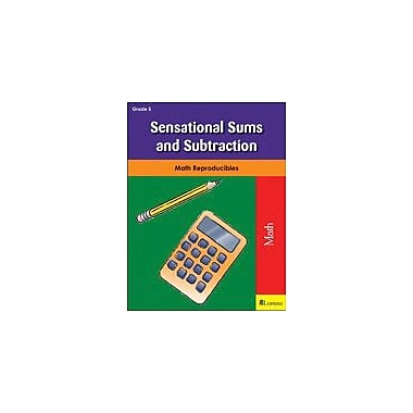 Milliken Publishing Sensational Sums and Subtraction Math Workbook, Grade 5 [eBook]