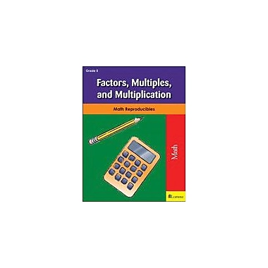 Milliken Publishing Factors, Multiples, and Multiplication Math Workbook, Grade 5 [eBook]