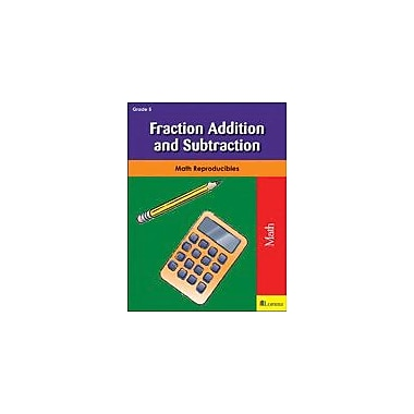 Milliken Publishing Fraction Addition and Subtraction Math Workbook, Grade 5 [eBook]