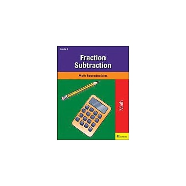 Milliken Publishing Fraction Subtraction Math Workbook, Grade 5 [eBook]