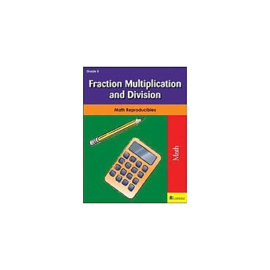 Milliken Publishing Fraction Multiplication and Division Math Workbook, Grade 5 [eBook]