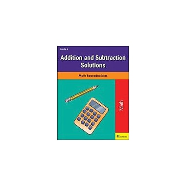 Milliken Publishing Addition and Subtraction Solutions Math Workbook, Grade 6 [eBook]