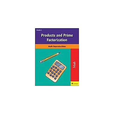 Milliken Publishing Products and Prime Factorization Math Workbook, Grade 6 [eBook]