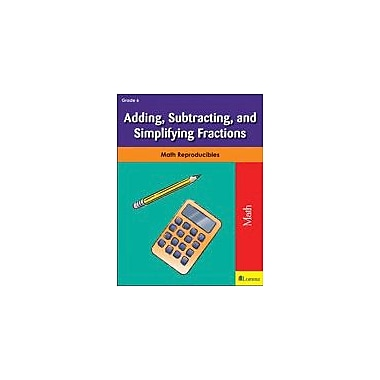 Milliken Publishing Adding, Subtracting, and Simplifying Fractions Math Workbook, Grade 6 [eBook]