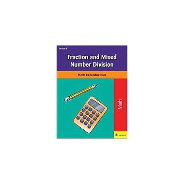 Milliken Publishing Fraction and Mixed Number Division Math Workbook, Grade 6 [eBook]