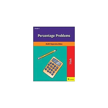 Milliken Publishing Percentage Problems Math Workbook, Grade 6 [eBook]