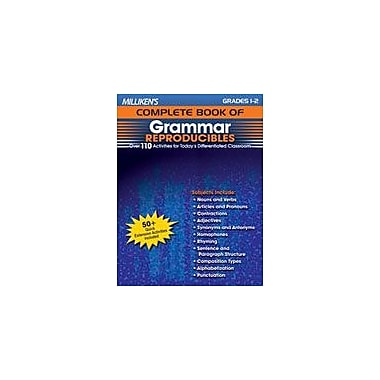 Milliken Publishing Milliken's Complete Book of Grammar Reproducibles: Grades 1,2 Workbook, Grade 1 - Grade 2 [Enhanced eBook]